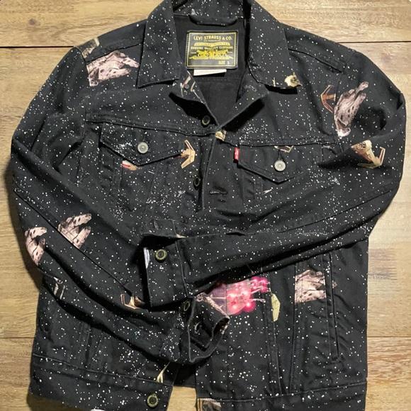 EUC Levi's size small Star Wars jacket